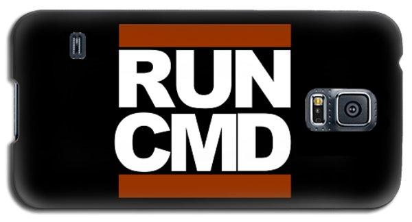Run Cmd Galaxy S5 Case by Darryl Dalton