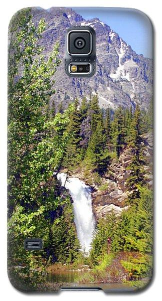 Running Eagle Falls Glacier National Park Galaxy S5 Case