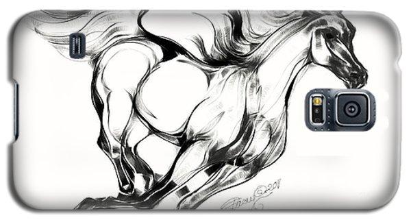 Running Horse Galaxy S5 Case