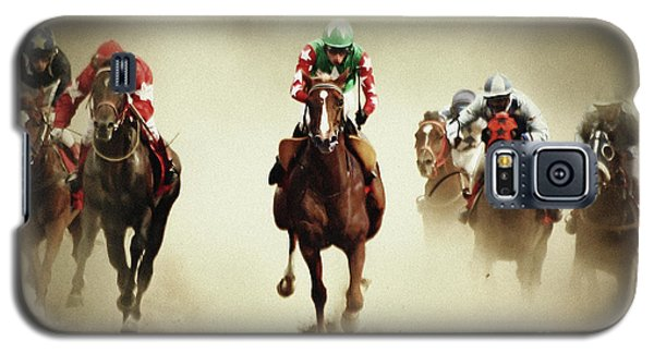 Running Horses In Dust Galaxy S5 Case
