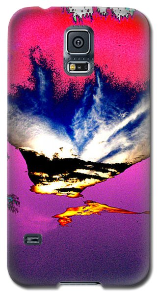 Galaxy S5 Case featuring the photograph Running Man by Lola Connelly