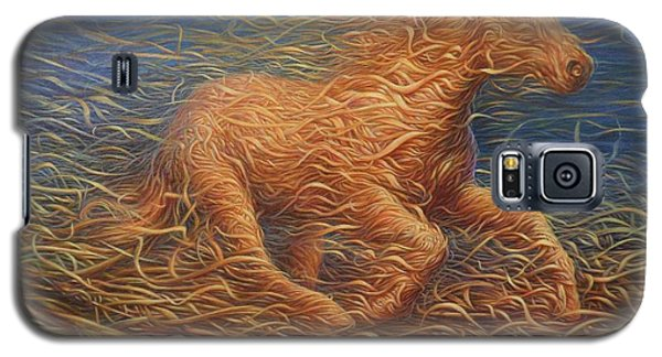 Running Swirly Horse Galaxy S5 Case