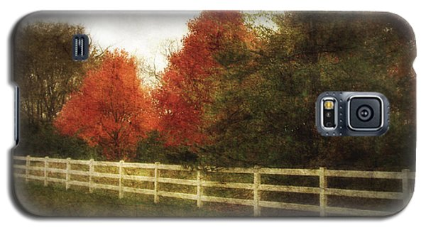 Rural Autumn Galaxy S5 Case
