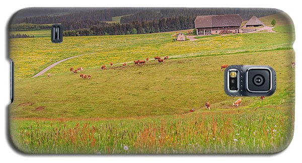 Rural Black Forest Landscape Galaxy S5 Case