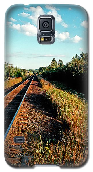 Rural Country Side Train Tracks Galaxy S5 Case