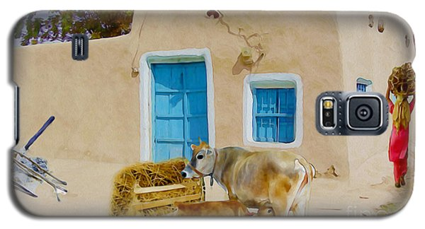 Rural Life  Galaxy S5 Case by Manjot Singh Sachdeva