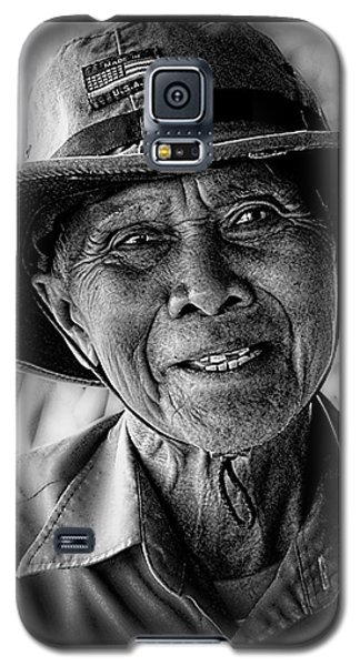 Rural Rice Farmer Galaxy S5 Case