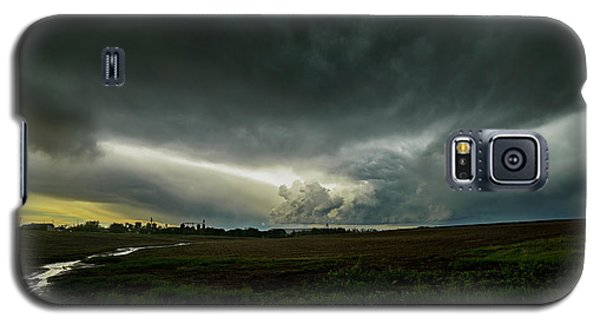 Rural Spring Storm Over Chester Nebraska Galaxy S5 Case