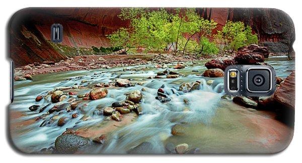 Rush At Narrows Galaxy S5 Case