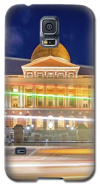 Rush Hour In Front Of The Massachusetts Statehouse Galaxy S5 Case
