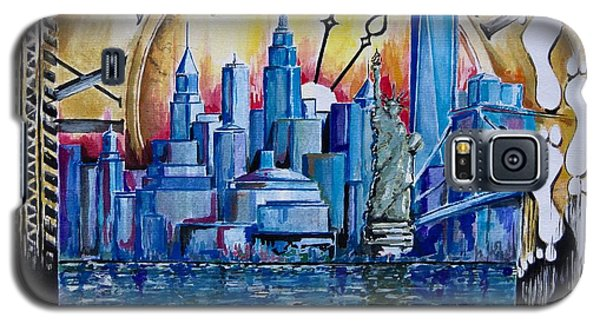 Rush Hour In New York  Galaxy S5 Case by Geni Gorani