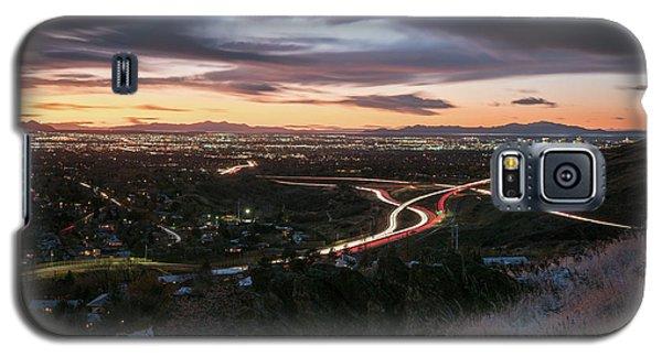 Rush Hour In Salt Lake City Galaxy S5 Case