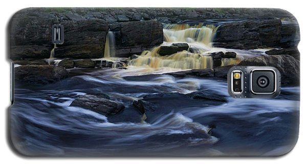 Galaxy S5 Case featuring the photograph Rushing By The Falls by Heidi Hermes