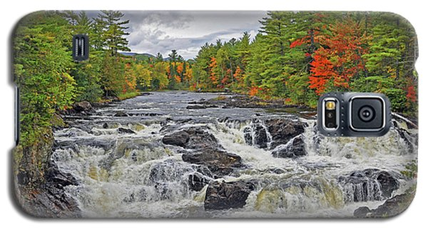 Galaxy S5 Case featuring the photograph Rushing Towards Fall by Glenn Gordon
