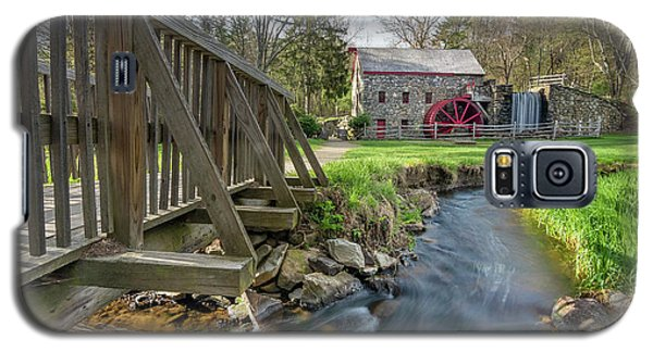 Rushing Water At The Grist Mill Galaxy S5 Case
