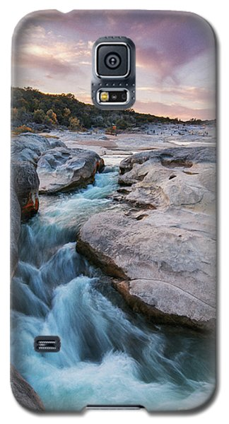 Rushing Waters At Pedernales Falls State Park - Texas Hill Country Galaxy S5 Case