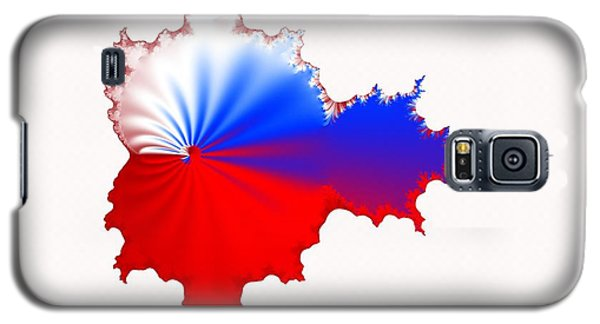 Russian Fractal Curve Galaxy S5 Case