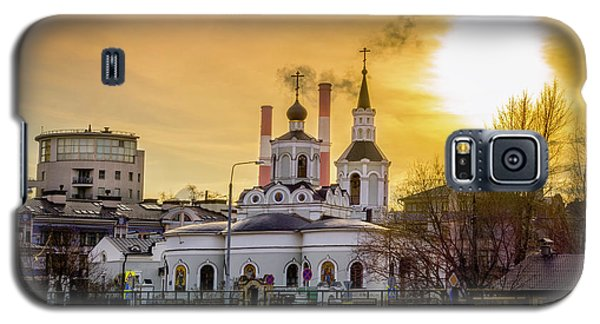 Galaxy S5 Case featuring the photograph Russian Ortodox Church In Moscow, Russia by Alexey Stiop