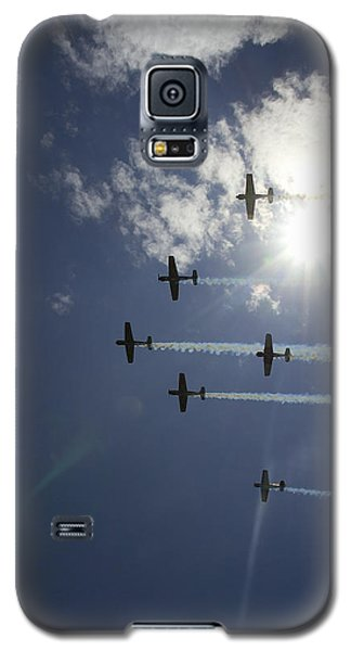 Galaxy S5 Case featuring the photograph Russian Roolettes And Sydney Sun by Miroslava Jurcik