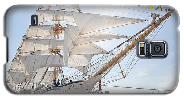 Galaxy S5 Case featuring the photograph Russian Sailing Ship by Aiolos Greek Collections