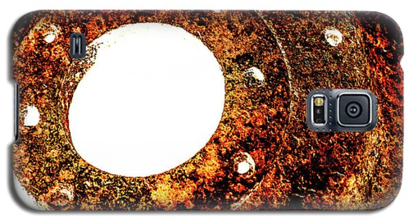 Galaxy S5 Case featuring the photograph Rust In Infrared by Onyonet  Photo Studios