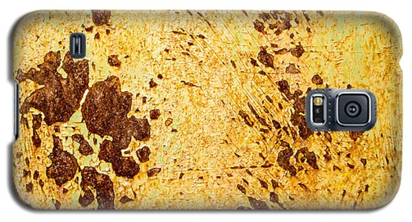 Galaxy S5 Case featuring the photograph Rust Metal by John Williams