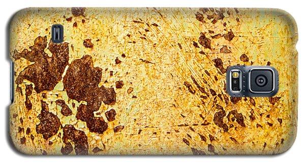 Rust Metal Galaxy S5 Case