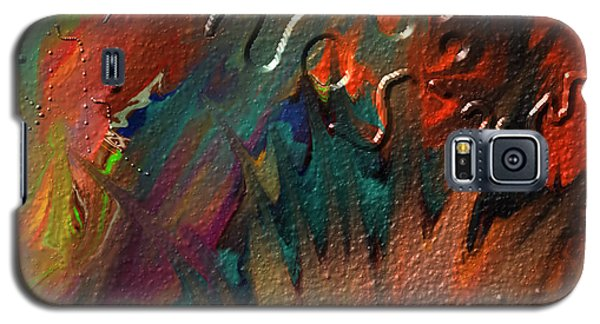 Galaxy S5 Case featuring the painting Rust Never Sleeps by Kevin Caudill