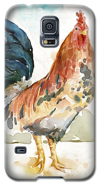 Rust Rooster Galaxy S5 Case by Mauro DeVereaux
