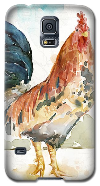 Rust Rooster Galaxy S5 Case