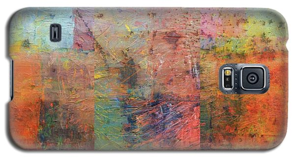 Galaxy S5 Case featuring the painting Rust Study 1.0 by Michelle Calkins