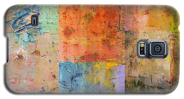Galaxy S5 Case featuring the painting Rust Study 2.0 by Michelle Calkins
