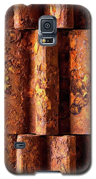 Rusted Gears 2 Galaxy S5 Case