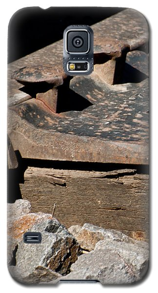 Rusted Rail Galaxy S5 Case by Colleen Coccia