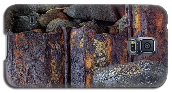 Galaxy S5 Case featuring the photograph Rusted Stones 3 by Steve Siri