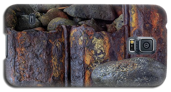 Rusted Stones 3 Galaxy S5 Case