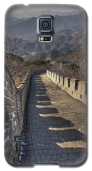 Rusti  Great Wall Hdr Galaxy S5 Case by Matthew Bamberg