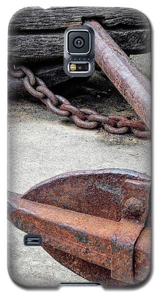 Rustic Anchor Galaxy S5 Case