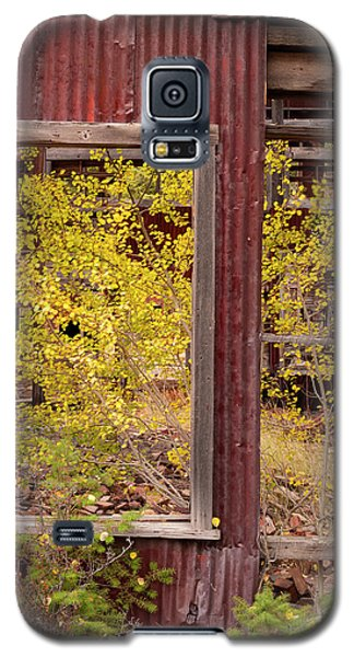 Galaxy S5 Case featuring the photograph Rustic Autumn by Leland D Howard