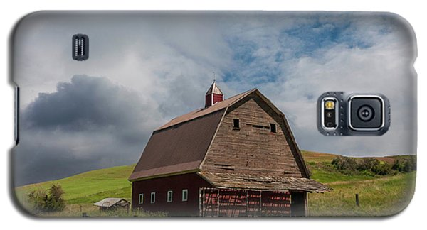 Rustic Barn Palouse Washington Galaxy S5 Case by James Hammond