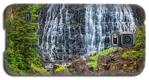 Galaxy S5 Case featuring the photograph Rustic Falls  by Rikk Flohr