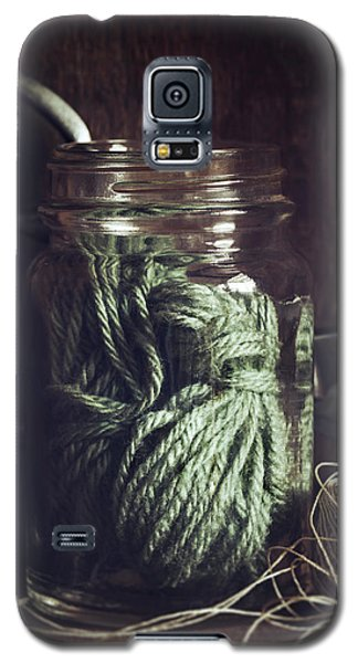 Galaxy S5 Case featuring the photograph Rustic Green by Amy Weiss