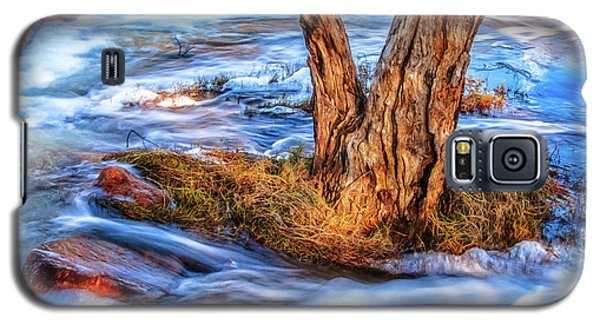 Rustic Island, Noble Falls Galaxy S5 Case by Dave Catley