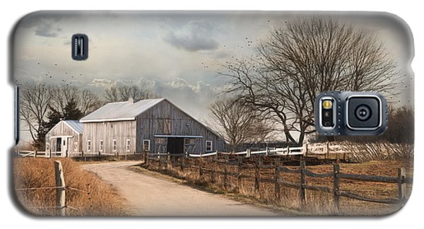 Galaxy S5 Case featuring the photograph Rustic Lane by Robin-lee Vieira