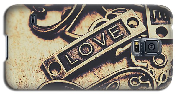 Rustic Love Icons Galaxy S5 Case by Jorgo Photography - Wall Art Gallery