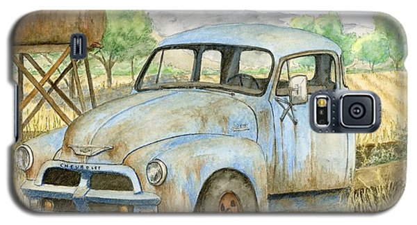 Rusty Blue Chevy Galaxy S5 Case