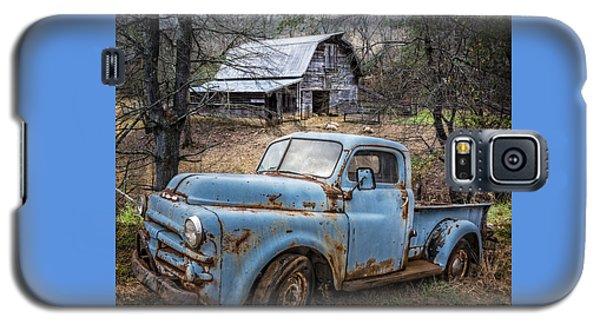 Rusty Blue Dodge Galaxy S5 Case