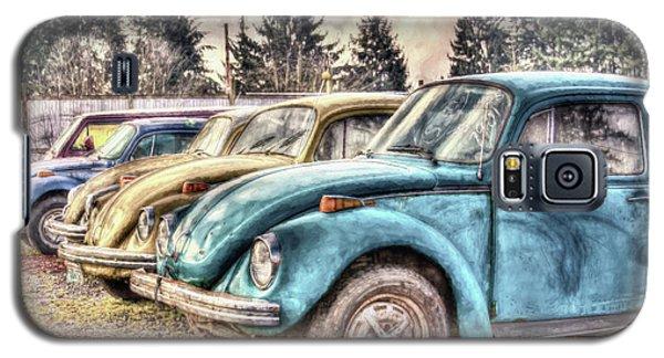 Galaxy S5 Case featuring the photograph Rusty Bugs by Jean OKeeffe Macro Abundance Art
