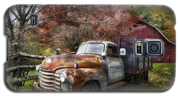 Rusty Chevy Pickup Truck Galaxy S5 Case