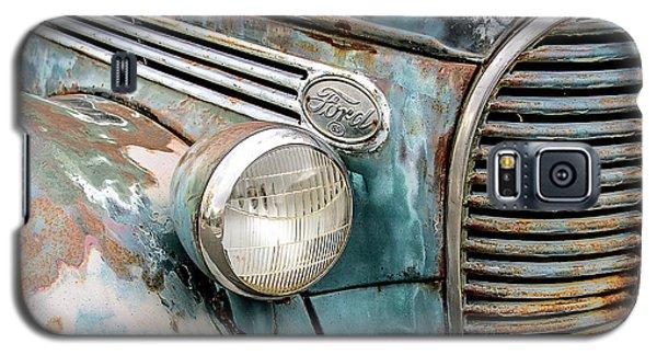 Rusty Ford 85 Truck Galaxy S5 Case by David Lawson